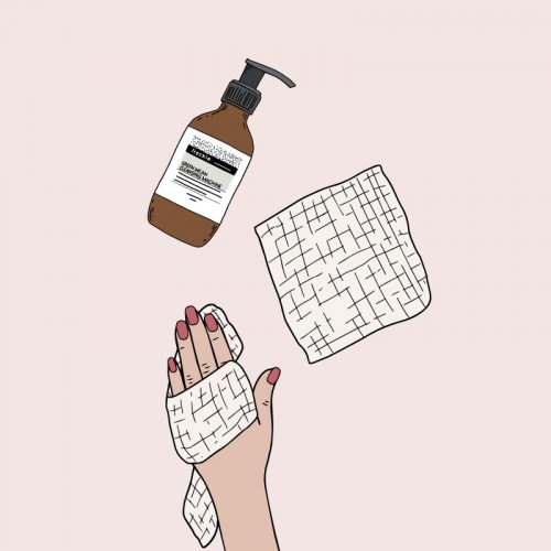 Freckle Organic Skincare Illustrations